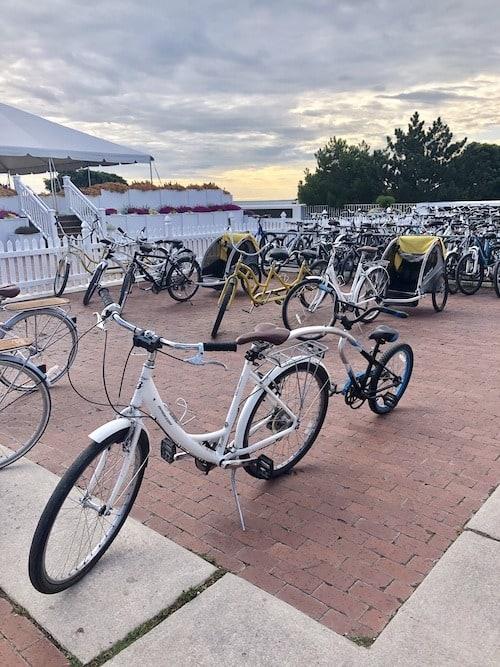 bicycles mackinac island lodging