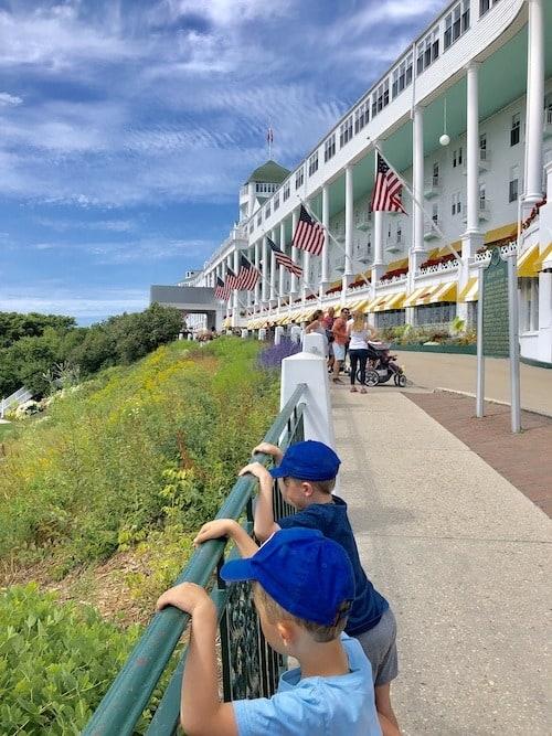 grand hotel mackinac island lodging