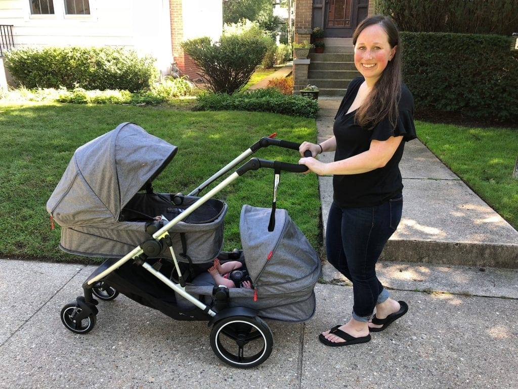 phil&teds voyager inline twin strollers