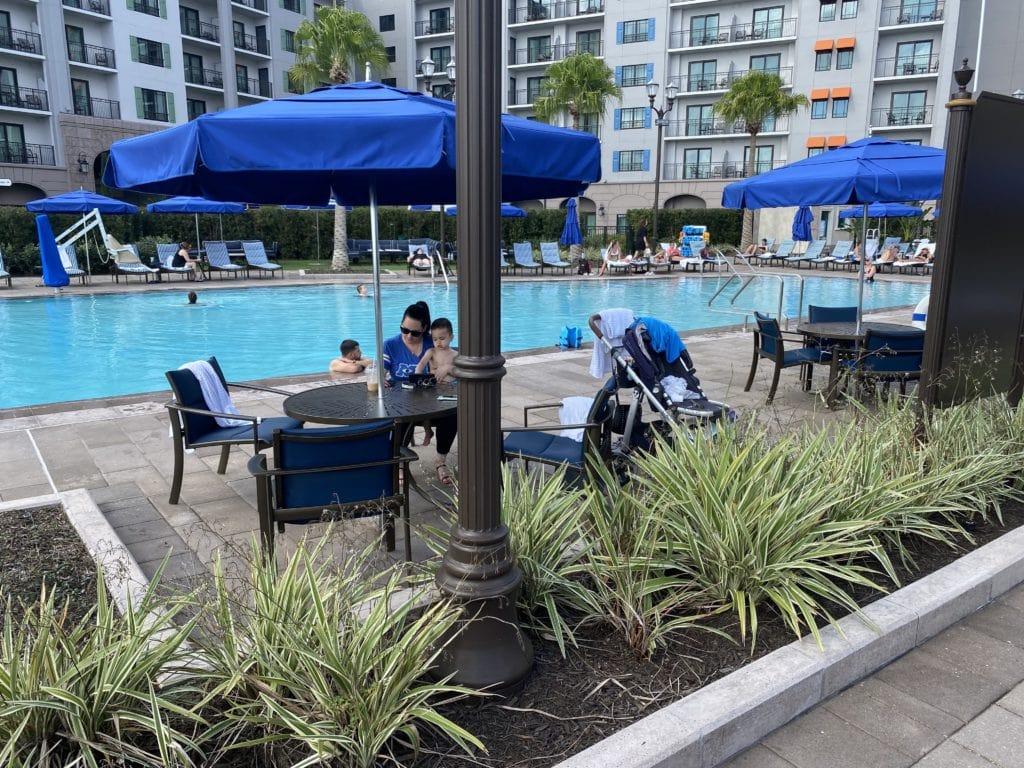disney riviera resort quiet pool