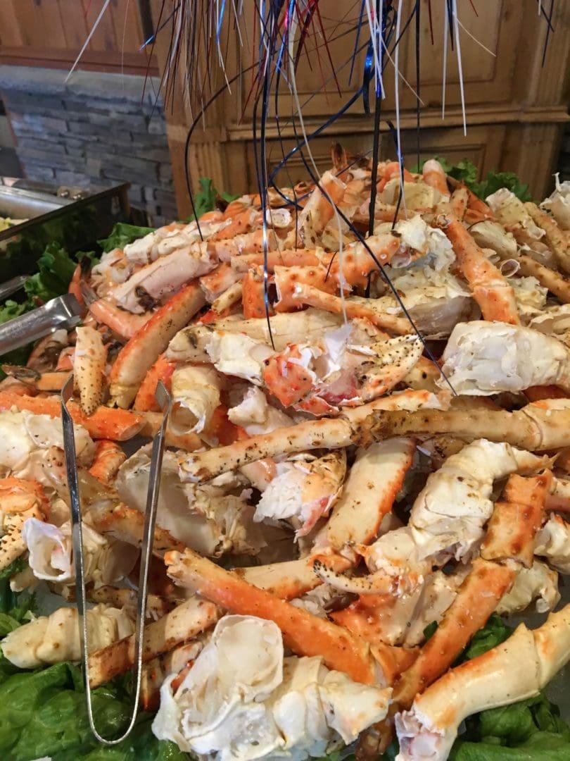 Crab Leg Buffet at Woodloch