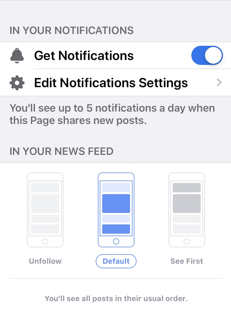 how to turn on Facebook notifications step2 giveaways