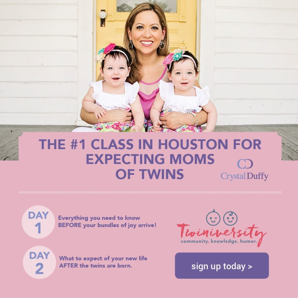 crystal duffy and twins houston expecting twins class Twiniversity