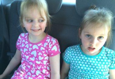 three-year-old twins