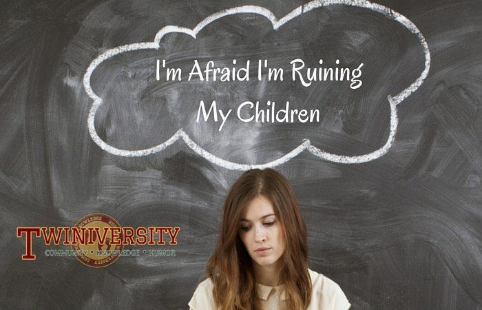 Woman afraid of ruining her children