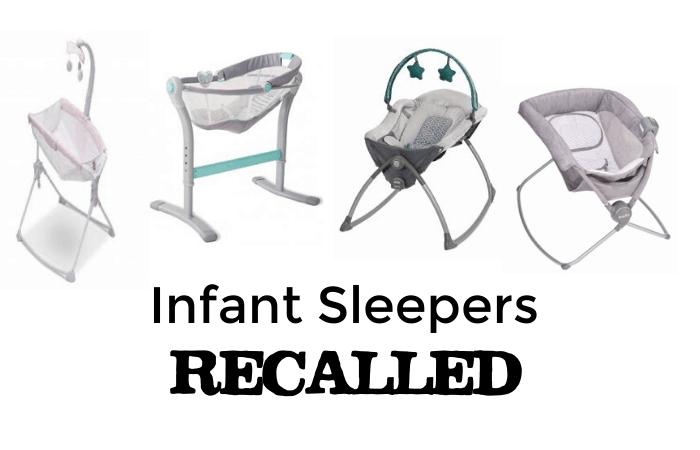 infant sleepers recalled
