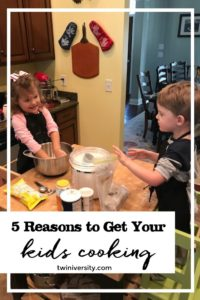 5 Reasons to Get Your Kids Cooking