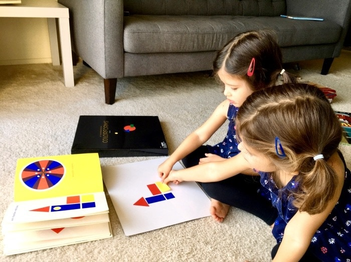 round and round and square book teach kids about color