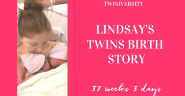 lindsay twins birth story medical team
