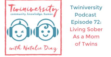 living sober as a mom of twins