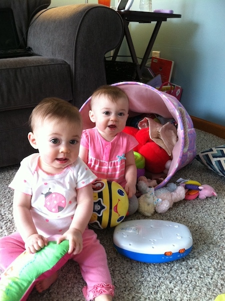 9-to-12-Month-Old Twins