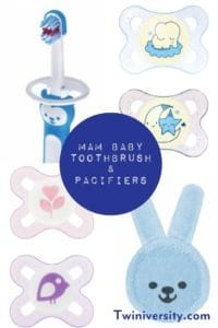 MAM Baby Toothbrush and Pacifiers