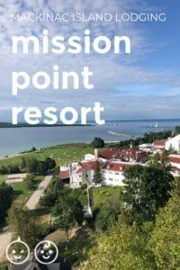 Mission Point Resort Mackinac Island Lodging