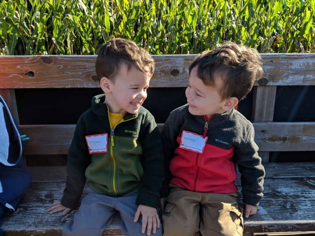 twin boys 3 years old Preschool for Twins