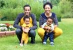 family with baby twins Pregnancy Ended at 24 Weeks