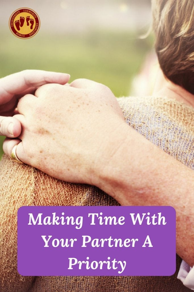 Making Time With Your Partner A Priority