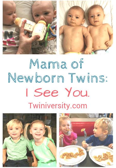 mama of newborn twins