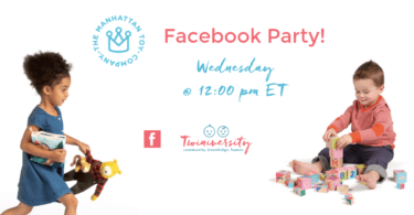 Manhatten Toy Facebook Party invitation