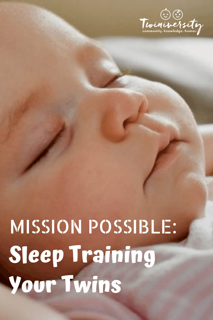 Mission Possible: Sleep Training Your Twins