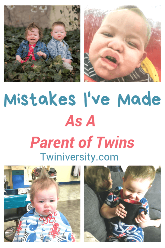 Mistakes I've Made As a Parent of Twins