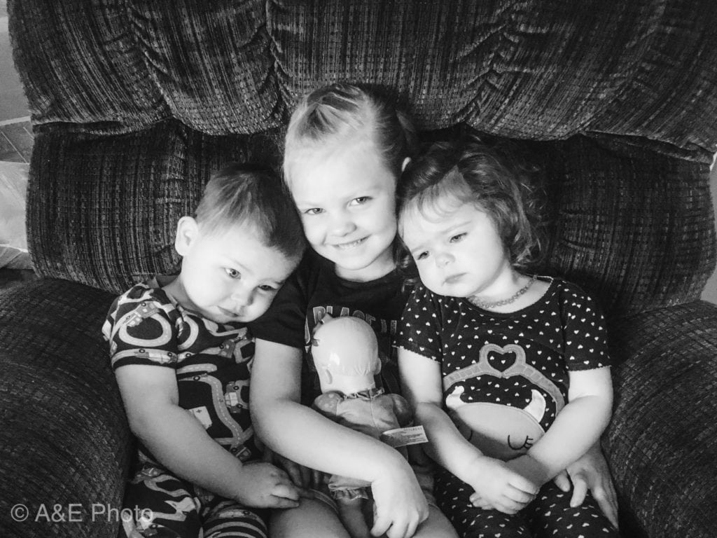 three kids snuggling mistakes I've made