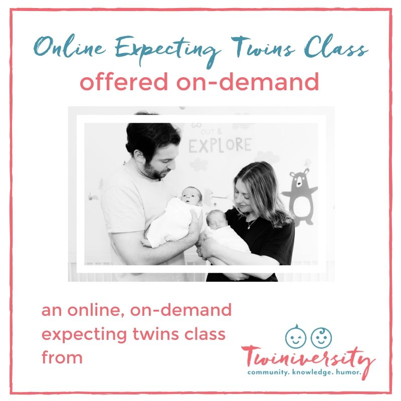 Twiniversity online expecting twins class