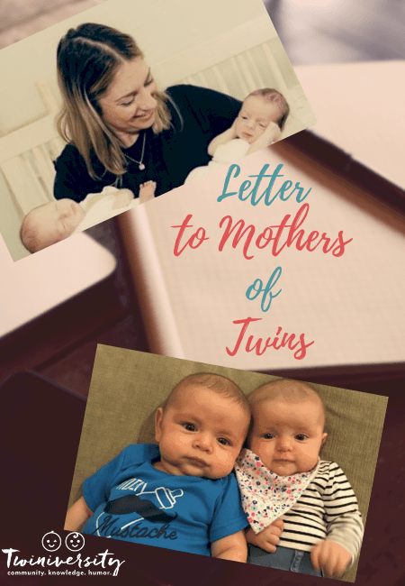 letter to mothers of twins