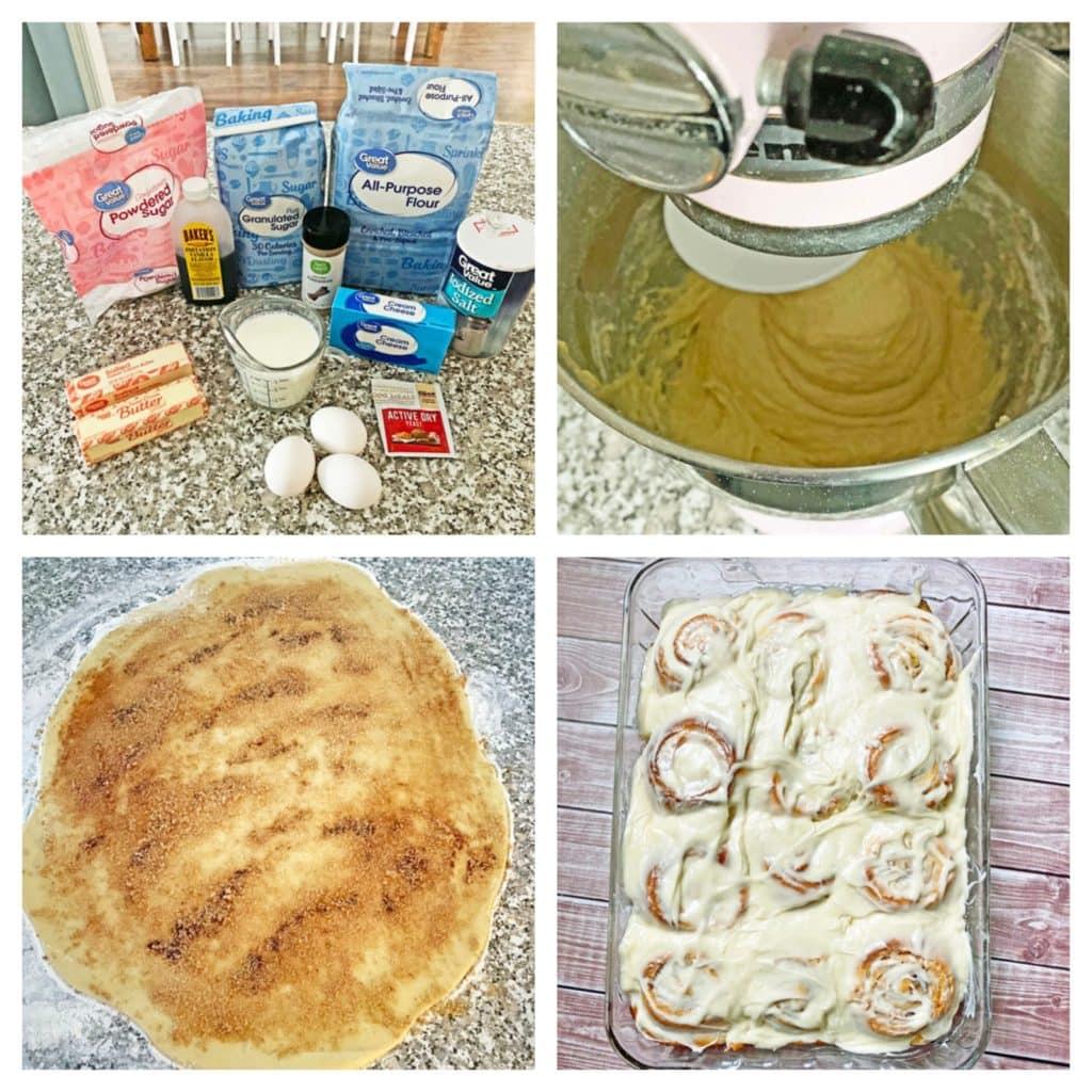 steps to make cinnamon rolls recipe