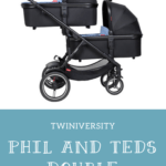 phil and teds double stroller voyager