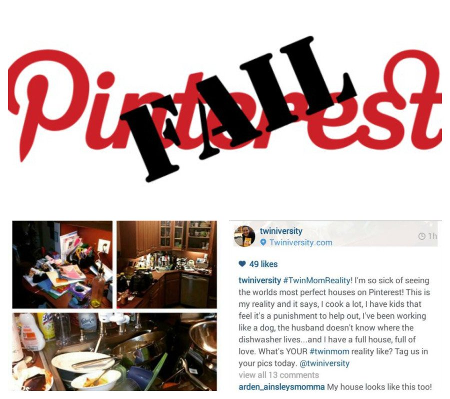 Pinterest is Not Real Life! A Twiniversity Truth