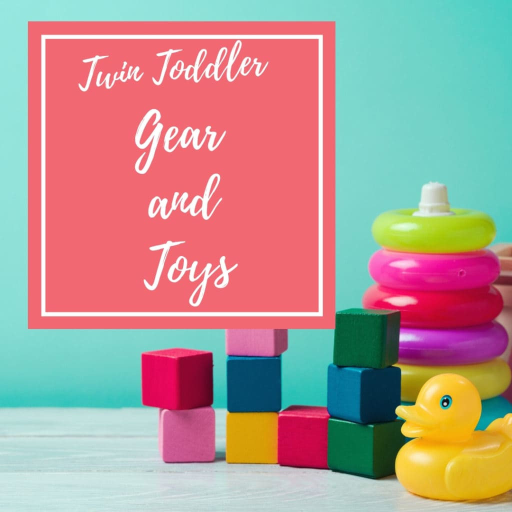 twin toddler gear and toys