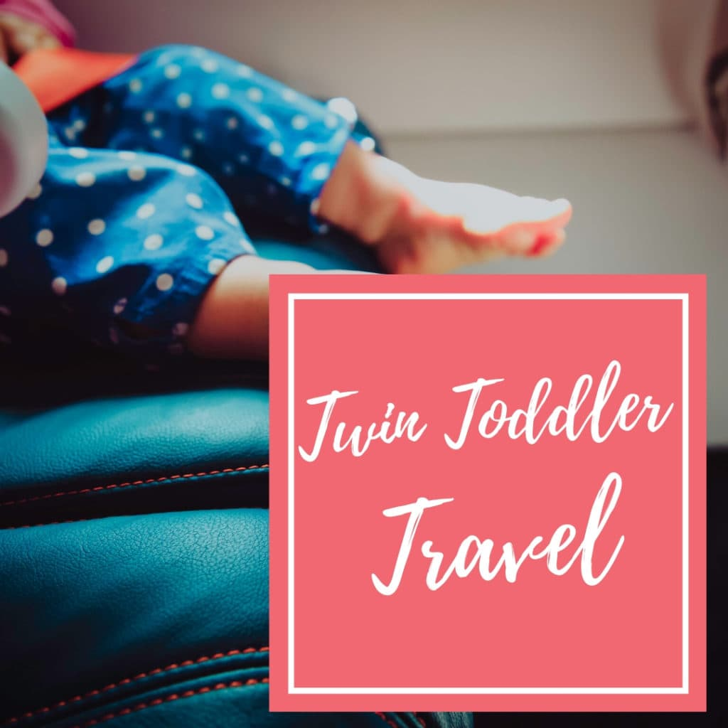 twin toddler travel