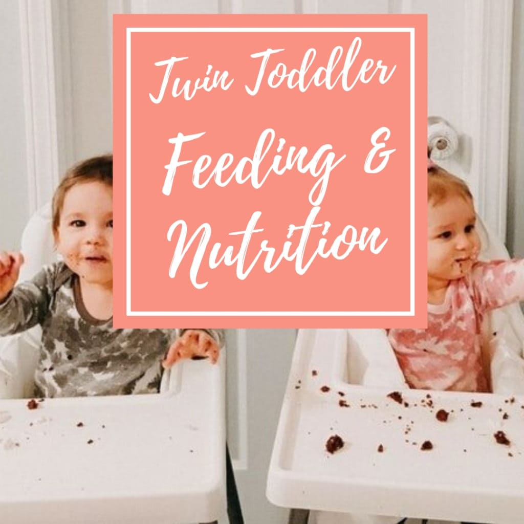 twin toddler feeding and nutrition