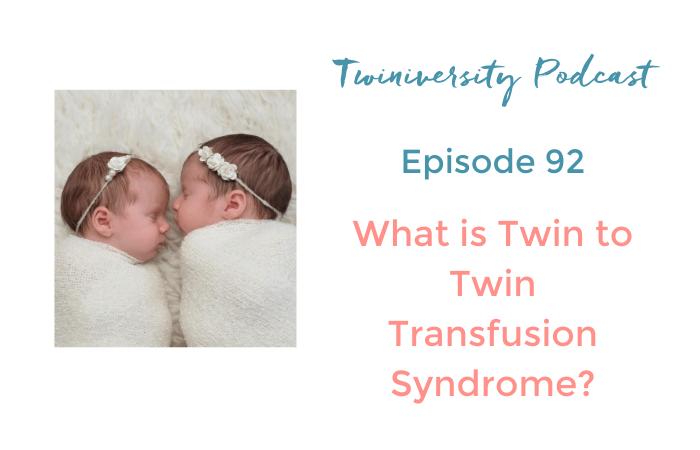 twin to twin transfusion syndrome