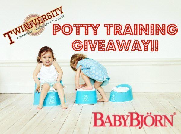 Potty Training Featuring Baby Bjorn