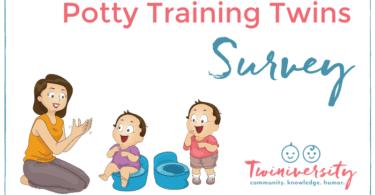 Potty trained Twins Survey