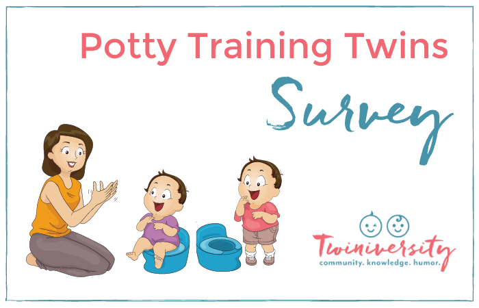 Potty trained Twins Survey