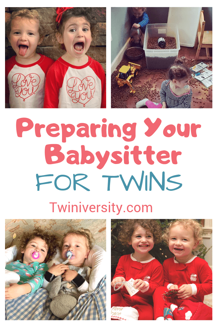 Preparing Your Babysitter for Twins