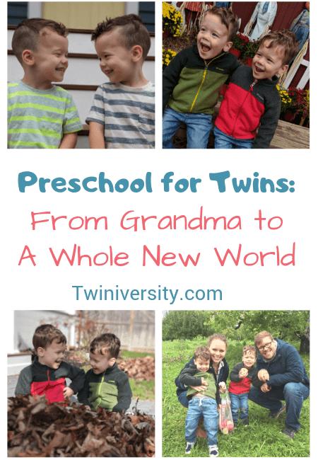 Preschool for Twins