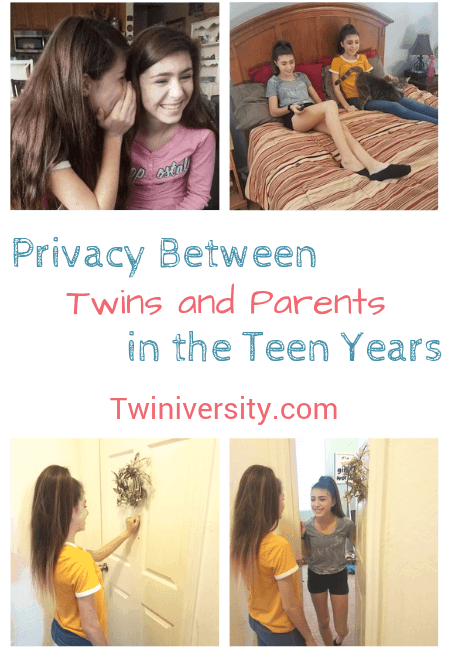 Privacy Between Twins and Parents in the Teen Years