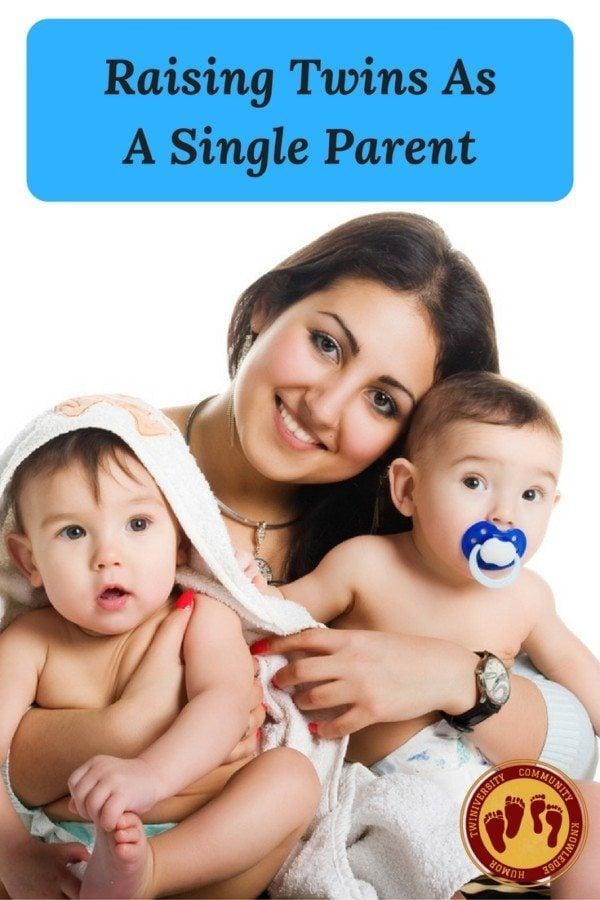 Raising Twins AsA Single Parent