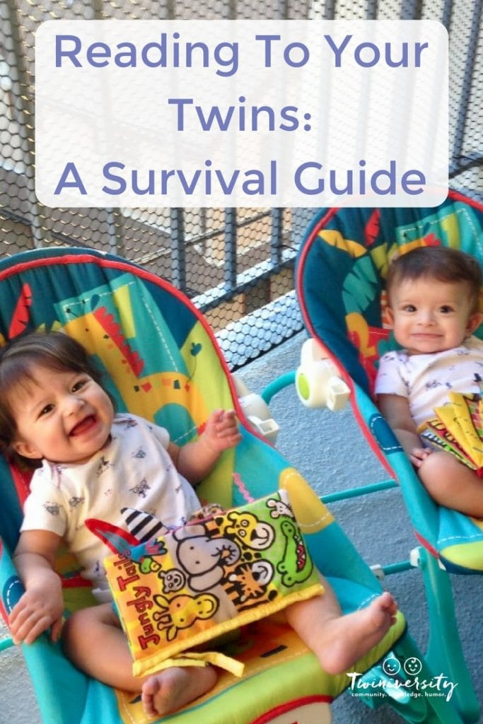 reading to your twins