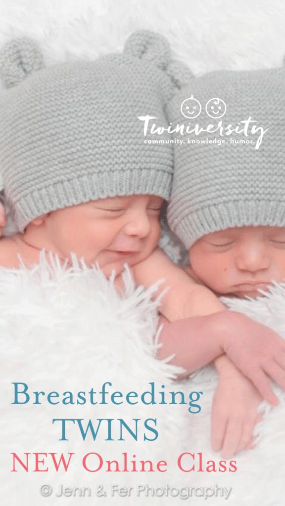 online breastfeeding twins class
