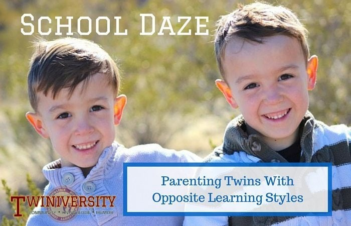 Parenting Twins With Opposite Learning Styles