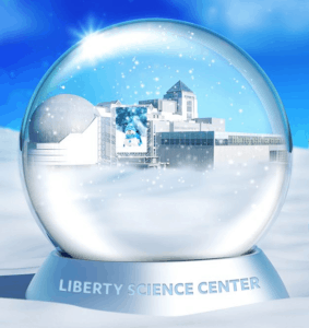 Liberty Science Center Winter Logo