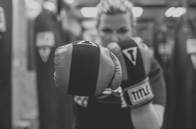 woman with boxing gloves Reclaiming Yourself After Twins