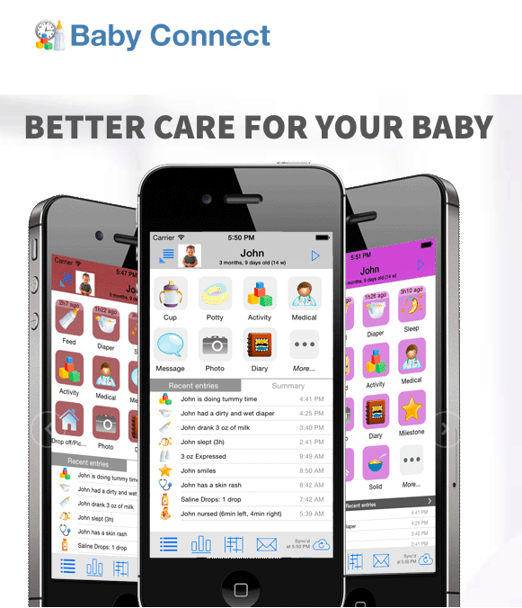 baby connect app Best Baby Tracker App for Twins