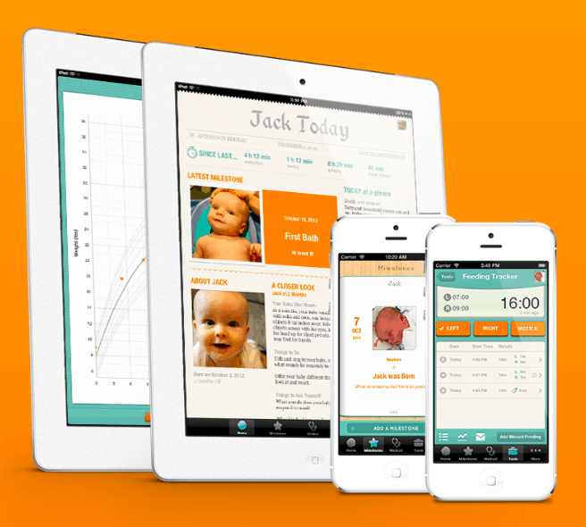 sprout app best baby tracker app for twins