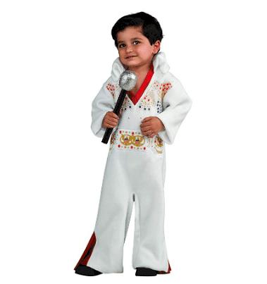 Elvis toddler halloween costume