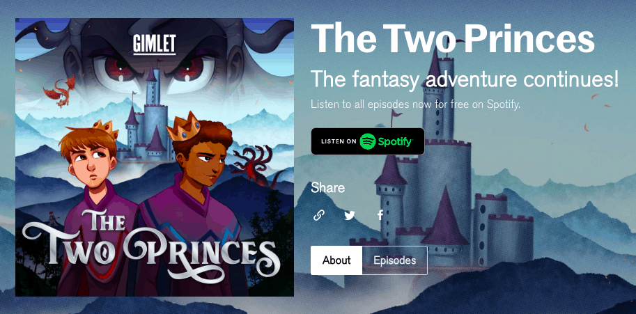 the two princes podcast free kids educational sites
